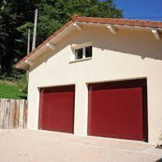 Porte de Garage Sectionelle Acier - Gamme MIAMI