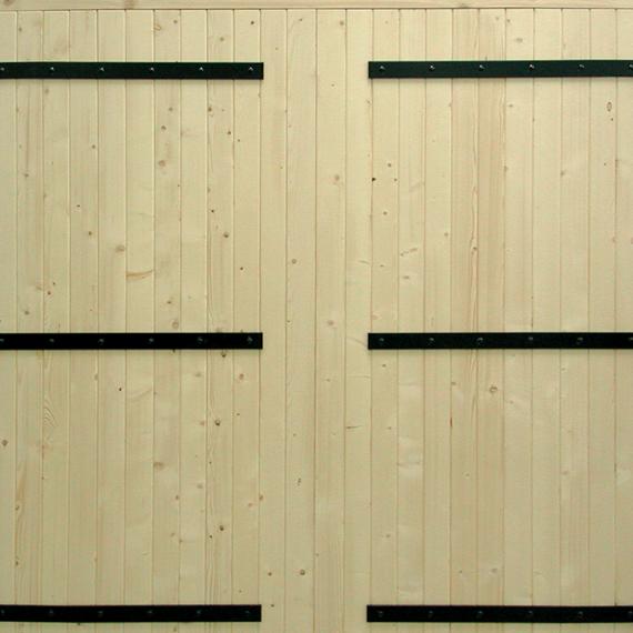 Porte de Garage Bois - Gamme CAMPAGNE