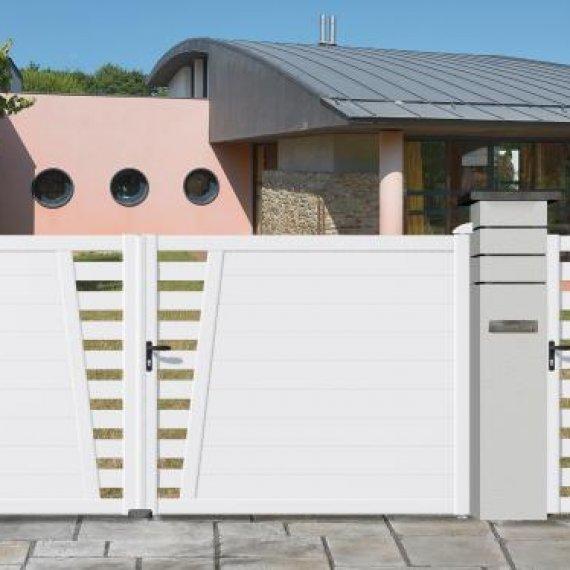 Portail PVC - Gamme THOR